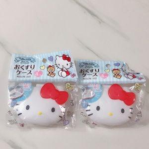 Sanrio Hello Kitty Multipurpose/Medicine/Pill Case